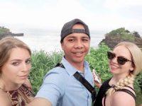 tanah lot tour with allina&allisa