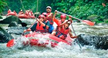 AYUNG RAFTING AND UBUD AREA